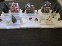4 FT Christmas Village Display Platform Base J40 Dept 56 Lemax Snow Village