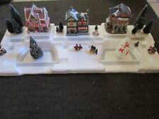 4 FT Christmas Village Display Platform Base J40 Dept 56 Lemax Snow Village