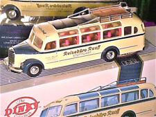 "AUTOCAR MERCEDES O 3500 1950 ""REISEBURO RUOFF STUTTGART"" DINKY 1989"