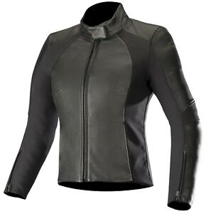 Alpinestars Vika V2 Women's Motorcycle Jacket Trendy Fitted Real Leather