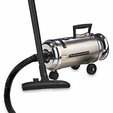 Professional Stainless Steel Compact Dust Brush Blower Canister Vacuum Cleaner