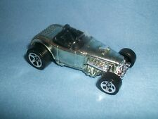 Hot Wheels  2000 First Edition Deuce Roadster #66~Silver ~Loose car