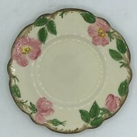 "Vintage Franciscan Desert Rose Bread & Butter Dessert Plate 6 3/8"" 1958 TV Mark"