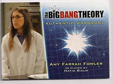 Big Bang Theory Season 5 Costume Card M26 Amy Farrah Fowler