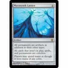 MTG DARKSTEEL * Mycosynth Lattice - Condition: Excellent