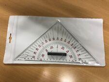 Stechzirkel /& Kursdreieck Anlegedreieck mit Tasche # Navi-Dreiecke Naviset SBF