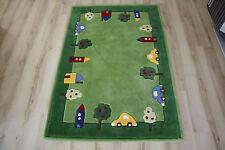 Tapis pour Enfants CARS VOITURES 130x180 cm 3386-04 handtuft