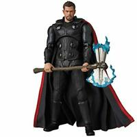 MAFEX No.104 MAFEX THOR AVENGERS INFINITY WAR Action Figure w/ Tracking NEW