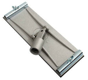 ProDec Swivel Pole Sander Head Heavy Duty Cast Aluminium Walls & Floors (SPSH)