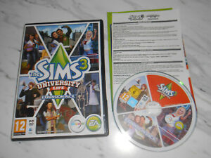 The Sims 3 University Life (PC DVD Windows / Mac 2013) Expansion Pack