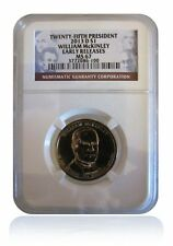NGC MS67 2013-D William McKinley Presidential Dollar Gem Early Releases
