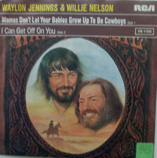 Waylon Jennings willie Nelson Mama Don 't let your babies grow up the Be Cowboys