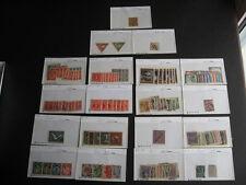 AUSTRIA collection of old stuff in sales cards PLZ Read Description