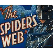 The Spider's Web - Cliffhanger Movie Serial DVD  Warren Hull  Iris Meredith