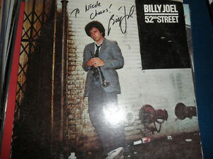 BILLY JOEL SIGNED ALBUM LP PROOF IN PERSON COA! EVERY LETTER SIGNATURE!