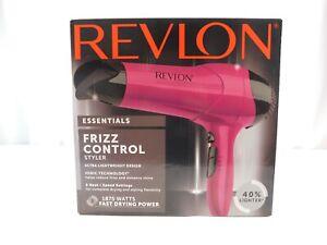 revlon hair dryer with frizz control styler