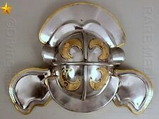 Imperial Italic Centurion Helmet White Plume Roman Costume Role Play MT464