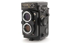 【EXC+++++】YASHICA Mat 124G TLR 6x6 Film Camera Yashinon 80mm F/3.5 From JAPAN