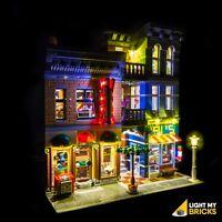 LIGHT MY BRICKS - LED Light kit for Lego Detectives Office set 10246 LEGO LED