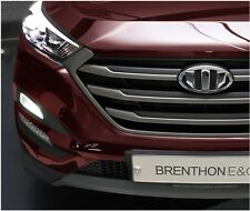Brenthon Front Grill Rear Trunk Emblem Badge For 2016+ Hyundai Tucson 2PC