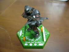 Lord of the Rings LOTR TMG Hex Combat Game Piece - Uruk-Hai Archer BS 28