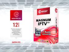 IPTV Arabe, Shippay Magnum IPTV - Abonnement 12 Mois [Teste 24h Gratuit] Full HD