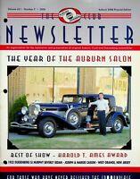 Vintage Auburn Cord Duesenberg Club Newsletter Magazine Vol 56 2008 No. 9 m887