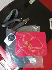 Kipling Mai Pouch Bag Red Handbag