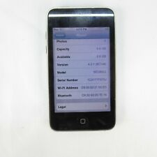 Apple IPOD Touch 8GB A1288 MC086LL  Used  and Works