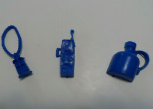 Original 1975 Jaws Board Game Parts Lantern Walkie Talkie and Jug Blue