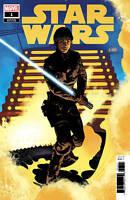 Star Wars #1 Luke 1:50 Var (2020 Marvel Comics) First Print Hughes Cover