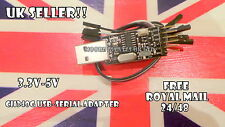 Ch340g USB adattatore seriale CP2102 pl-2303hx ftdi232 alternativa DTR PIN & Piombo UK