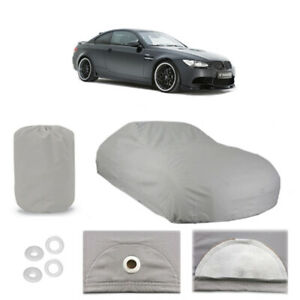 BMW M3 6 Layer Car Cover Fitted In Out door Water Proof Rain Snow Sun Dust