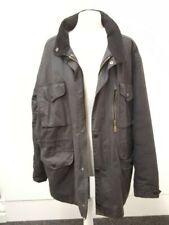 Men's Barbour Sapper Wax Jacket Black Size XL