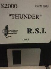 KURZWEIL ~ RSI ~ THUNDER ~ Floppy Disk K2XXX/K2500/K2600 w/VAST PROGRAMMINGS!!!