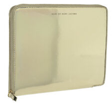 Marc Jacobs Techno Gold Hologram iPad Folio Tablet Case NWT