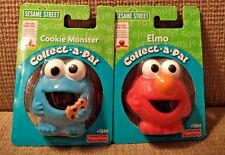 FISHER PRICE SESAME STREET COLLECT A PAL ELMO & COOKIE MONSTER  *NEW*