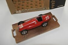 1/43 BRUMM ALFA ROMEO GP 158 350HP N°25 R36 1950 MINT BOXED