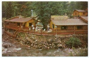 Ponderosa Lodge Estes Park CO Hwy. 34 Postcard ~ Colorado