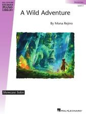 Mona Rejino A Wild Adventure Elementary Level 2 Piano Solo Sheet Music-Brand New