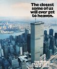 Vintage World Trade Center Twin Towers Brochure Cover Poster