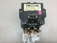 USED SQUARE D SIZE 4 600VAC 480VAC COIL 3POLE CONTACTOR 8536SF01