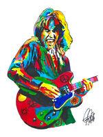 Alvin Lee Ten Years After Guitar Blues Rock Music Print Poster Wall Art 8.5x11