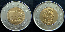 2008 - CANADA - 2$ Toonie - Hard to Find - UNC from Mint Roll