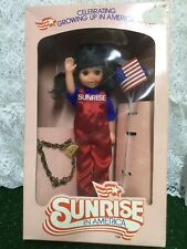 "Vintage 1982 Sunrise in America 8"" Doll No. 3200-1 Unopened New Nrfb"