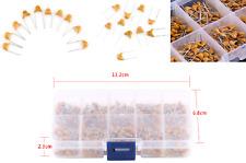 01uf10uf 50v Ceramic Capacitor Assorted Kit 500pcs 10 Value