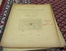 19001909 Date Range Antique Geological Maps eBay