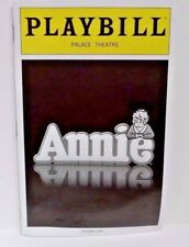 Playbill Annie The Musical Jane Lynch Broadway Glee Palace Theater NYC Collect