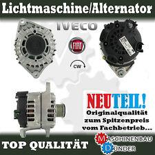FIAT DUCATO IVECO DAILY ALTERNATOR / LICHTMASCHINE NEU NEW 180A !!!