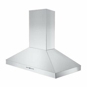 ZLINE KL336 36 Inch Mounted Wall Range Hood in Stainless Steel with 2 LED Lights